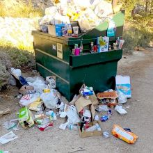 IVCBA, Incline Village Roundabout is trash-free!